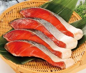 〈椎野商店〉紅鮭