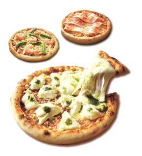 〈おうちピザ ピッコロッソ〉神戸ピザ・3枚よりどり