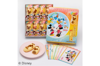 〈Disney SWEETS COLLECTION by 東京ばな奈〉ミッキー&フレンズ 東京ばな奈「見ぃつけった」