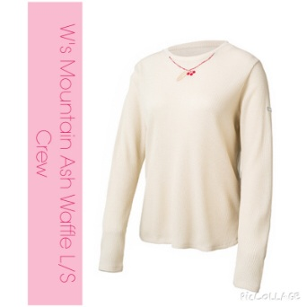 W's Mountain Ash Waffle L/S Crew