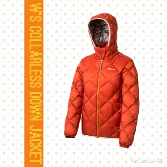 W's Collarless Down Jacket
