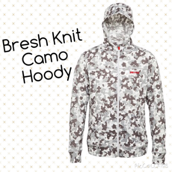 Bresh Knit Camo Hoody