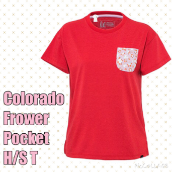 W's Colorado Frower Pocket H/S T