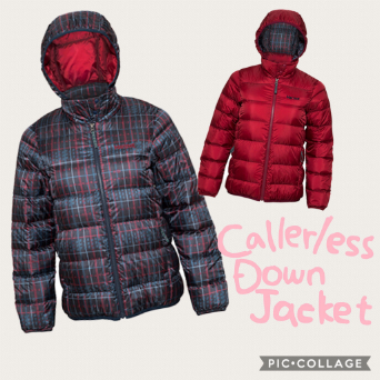 W's Callarless Down Jacket