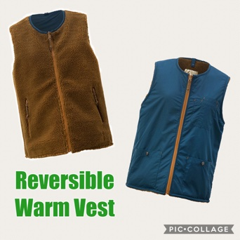 W's Riversible Warm Vest