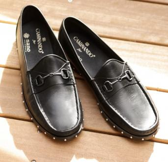 別注STUDS BOAT LOAFERS 03/08