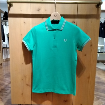 Women's  Twin Tipped Fred Perry Shirt (G12)ウィメンズ2本ラインフレッドペリーシャツ 2020.04/18UP