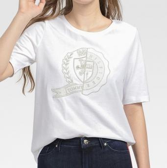 Tommy Icons クレストロゴTシャツ